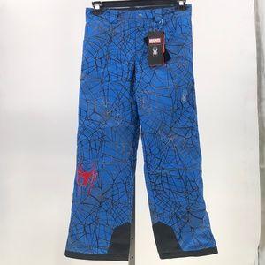 SPYDER MARVEL HERO SKI Snowboard PANTS Boys sz 14